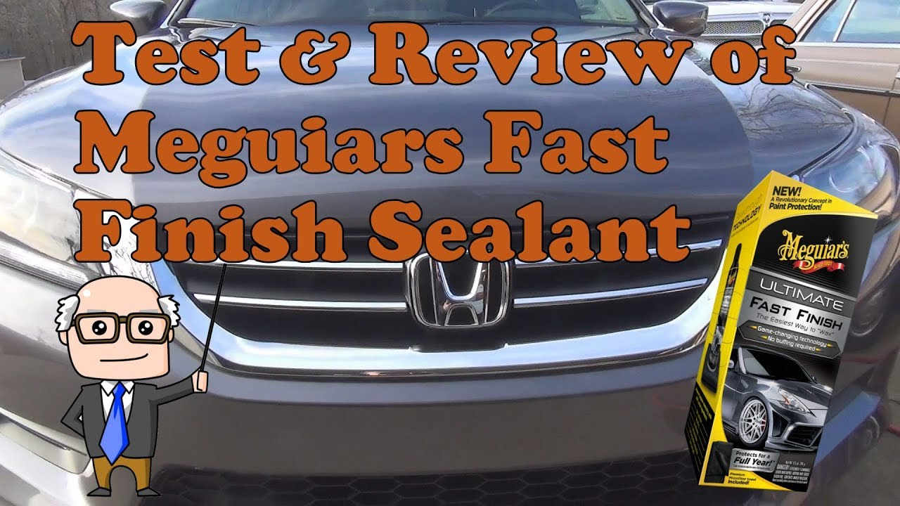 Test And Review Of Meguiars Fast Finish Youtube