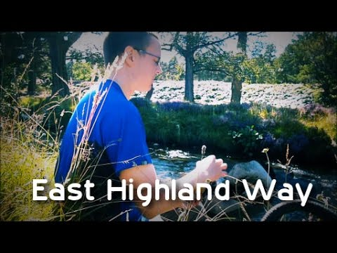 Walk from Braemar to Inverness - Day 2 (East Highland Way)