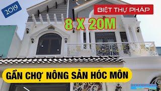 [ Quá đỉnh thời Covid ]  Bán biệt thự Hóc Môn 2019 ✅ 8x20m chợ Nông Sản
