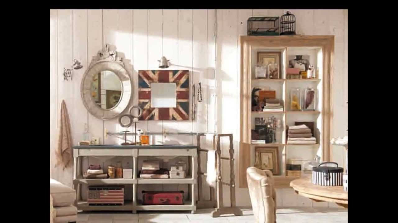 Decora con muebles vintage loft chic youtube for Muebles vintage com
