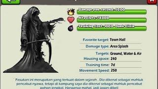 clash of clans upcoming dark troops coc sever has leaked next dark troops