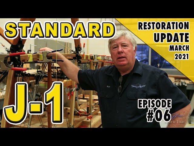 Standard J-1 - Restoration Update - March 2021
