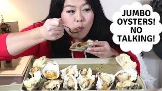 Jumbo Oyster Mukbang! No talking-ASMR