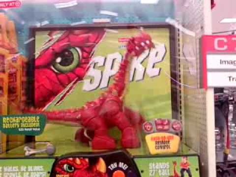 NEW Imaginext Spike Dinosaur Review - Fisher Price