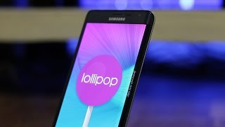 видео Samsung Galaxy Note Edge Обновление для Android 5.0.1 Lollipop