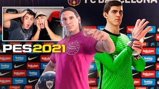 MINIBUYER me saca TODAS LAS BOLAS NEGRAS!! Ball Opening Pes 2021