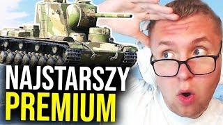 NAJSTARSZY PREMIUM - 1 VS 6 - World of Tanks