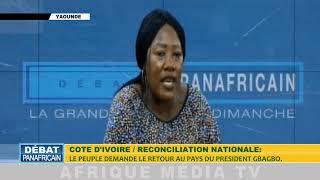 Pr VERONIQUE SOLANGE OKOME BEKA reconciliation nationale en cote divoire le peuple exige le retour d