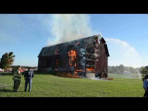 York Barn Fire