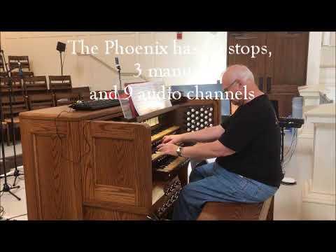 A Phoenix Organ at Raleigh Cathedral, North Carolina