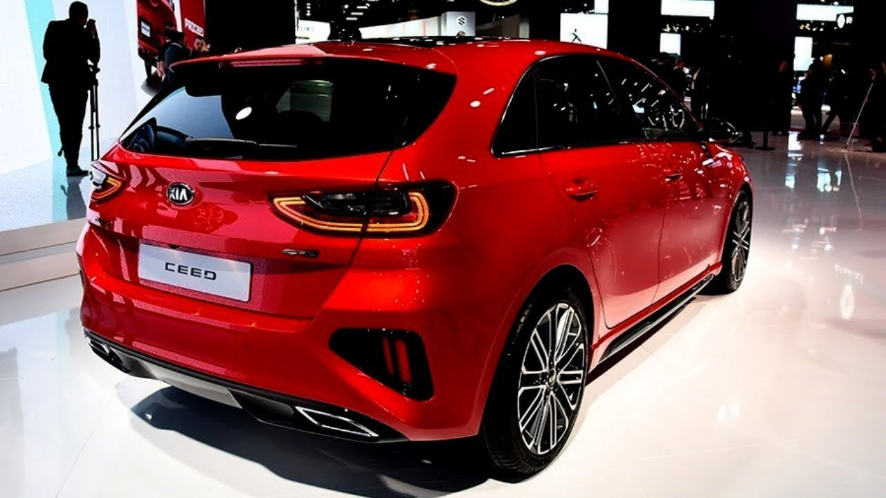 New 2019 Kia Ceed Gt Line Exterior And Interior Awesome Sporty Hatchback Youtube