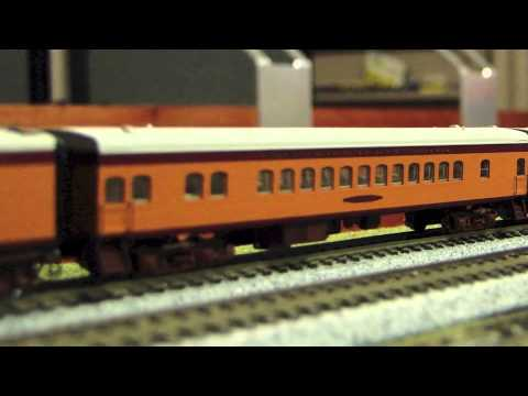 Hiawatha atlantic steam 4-4-2 complete train with loksound (top hobby trains package)