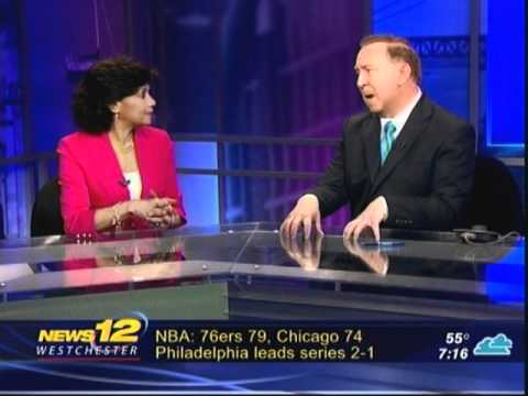Sonia Manzano Interview on May 4, 2012 with News12 - YouTube