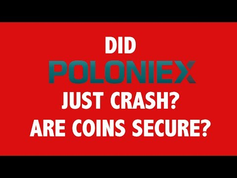 Did Poloniex Just Crash? Are Coins Secure?