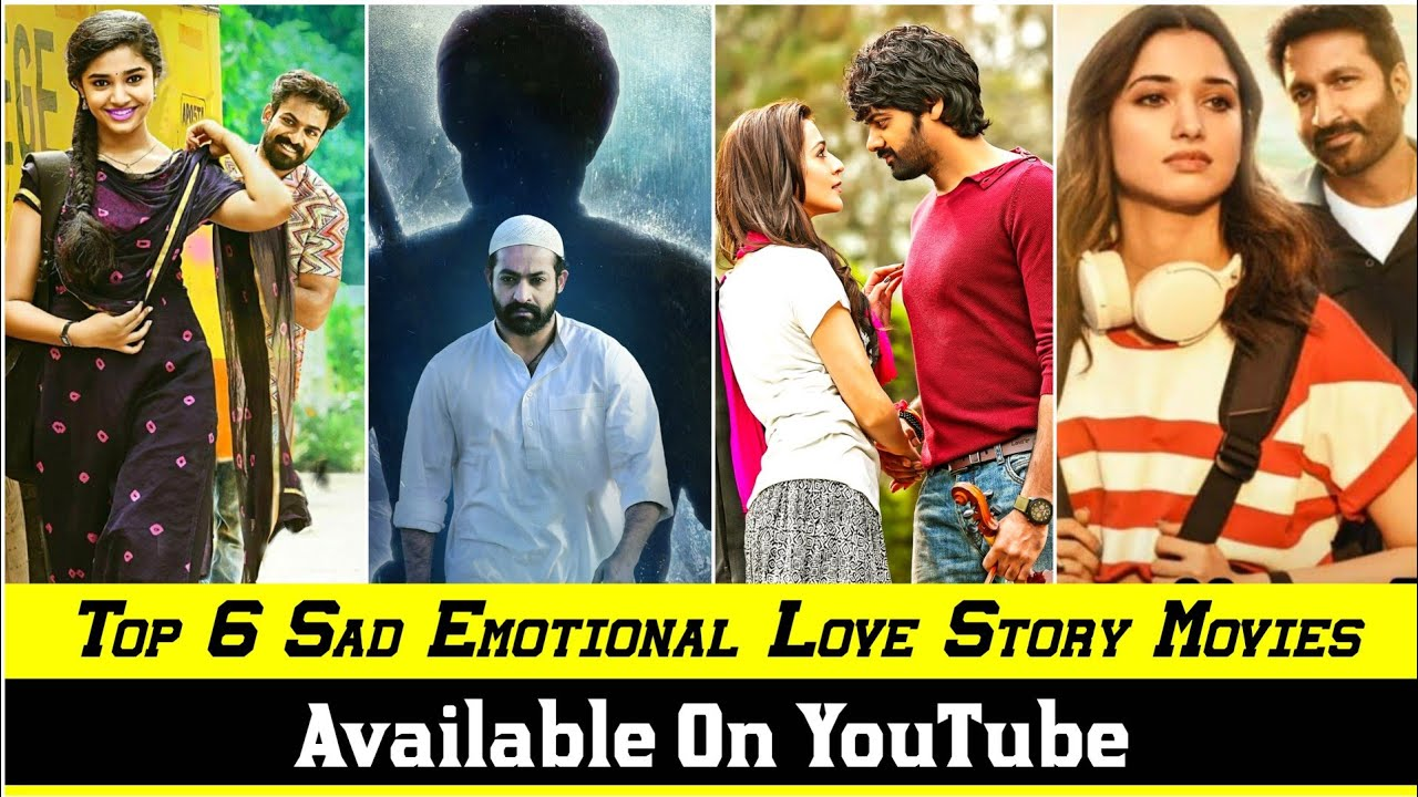 Download 6 Big New South Indian Love Story Movies In Hindi Dubbed Available On YouTube