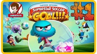► COPA TOON: ¡GOLEADORES! CN #1★GAMEPLAY★ ESPAÑOL (CN Superstar Soccer: Goal!!!)