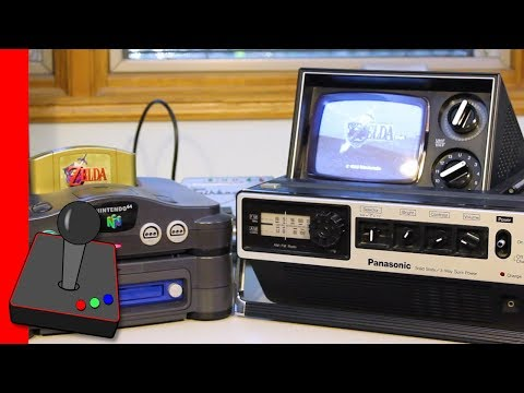N64 DD & Broadcast Television on an old Black & White TV - H4G