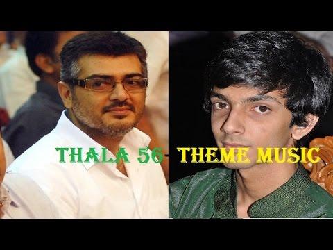 Thala 56 Theme Music Ready  | Ajith | Anirudh | Tamil latest cinema hot news | Kollytube