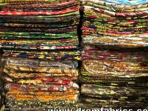 AFRICAN FABRICS (www.dremfabrics.com)