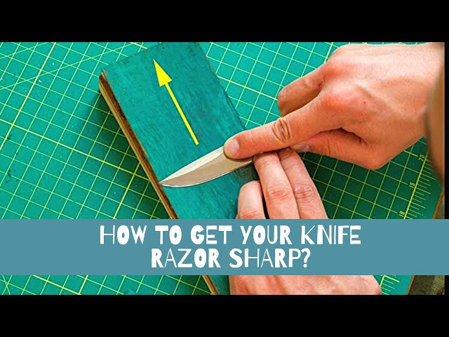 How to Strop Your Knife? 🔪 Easy Sharpening for Beginners I LS2