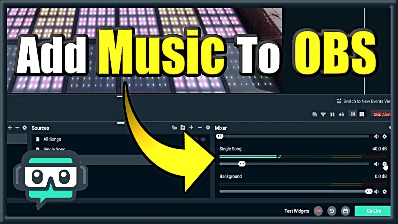 How To Add Music To Streamlabs Obs Make A Music Playlist Easy Method Youtube
