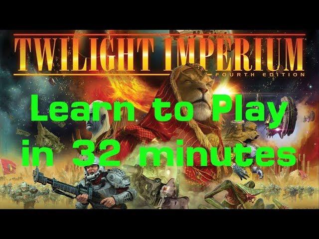 Twilight Imperium (4th Edition) in 32 minutes