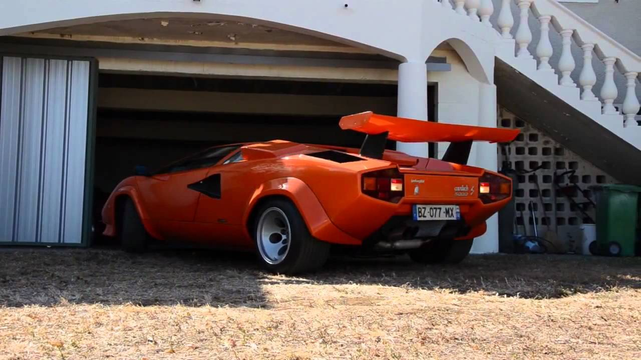 Countach Restoration And Testing Re Upload Check