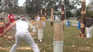 l m o toole vs b meyer round 2 300mm qld standing block elimination championship redcliffe 2014