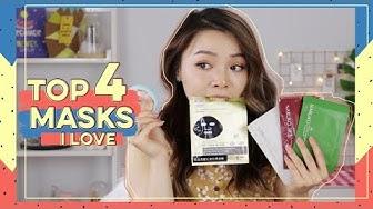 Top 4 Mặt Nạ Trinh Mê ♡ Top 4 Masks I Love ♡ Trinh Pham