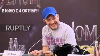 Russia: Actor Tom Hardy expresses wish to be a 'Super Dad' in Moscow