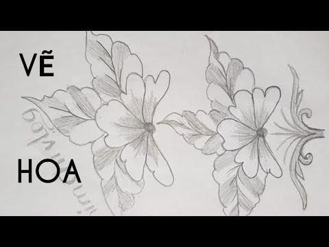 Vẽ Chibi – vẽ hoa nghệ thuật đẹp và đơn giản – How to Draw Art Flower I Kim Chi Art & Draw