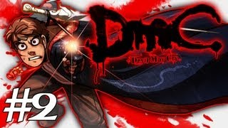 How Dante Got His Groove Back - DMC - Devil May Cry Gameplay / Walkthrough w/ SSoHPKC Part 2 - Through the Copper Door