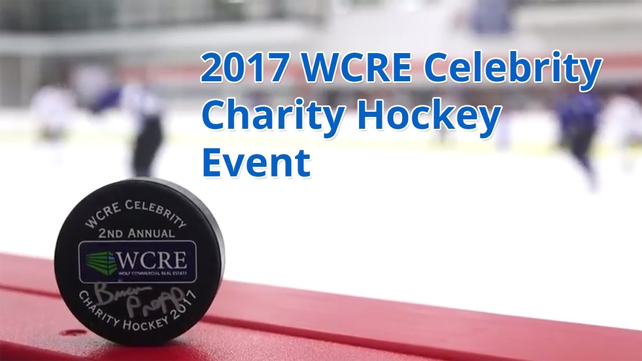 WCRE 2017 Celebrity Charity Hockey Event