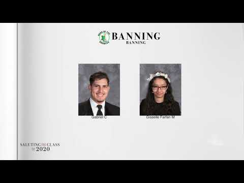 Saluting the Class of 2020 —Banning High School    NBCLA