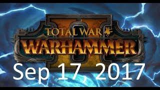 Total War: Warhammer 2: Skaven campaign stream. (Sep 18, 2017)