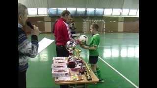 Турнир по мини-футболу среди детей.