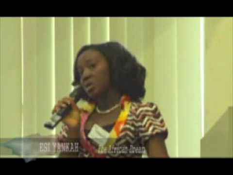 The African Dream: Esi Yankah At TEDxYouthInspire 2010 @ Accra