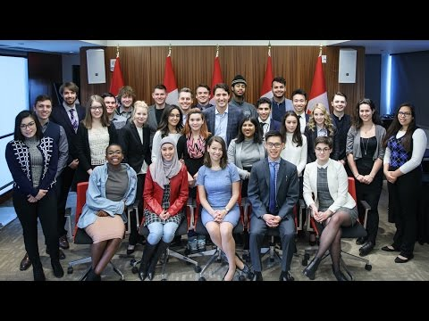Highlights from Prime Minister Trudeau's Youth Council meetings