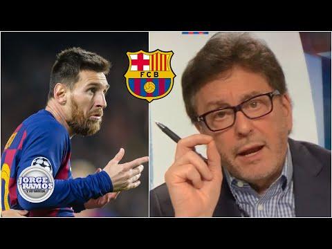 BOMBAZO 'Messi ya no va a jugar más en Barcelona': Jorge Ramos con todo | Jorge Ramos y Su Banda