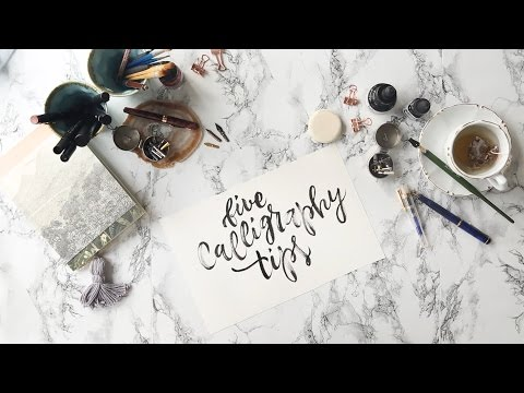 5 Tipps für eine schöne Handschrift | WESTWING Style-Tipps