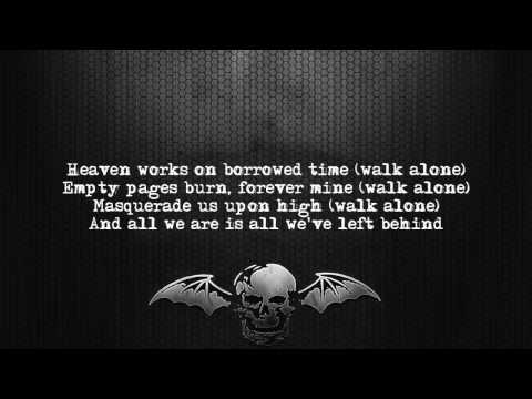 Avenged Sevenfold - Fermi Paradox [Lyrics on screen] [Full HD]