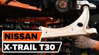 Kā nomainīt NISSAN X-TRAIL T30 priekšējo apakšējo sviru PAMĀCĪBA | AUTODOC