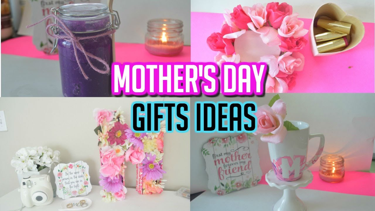 Mother S Day Gift Ideas Diy Gifts For Mom Youtube