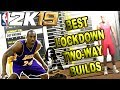 THE BEST LOCKDOWNS & TWO-WAY BUILDS in NBA 2K19