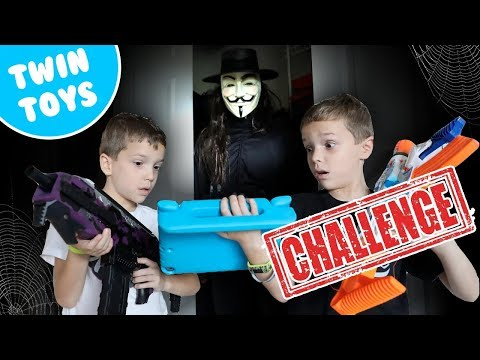 [Nerf Battle] Game Master Got Into Our YouTube Channel (FUNNY VIDEOS)