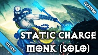 Diablo 3: GR75+ Static Charge Monk (Solo | 2.3 | Season 4)