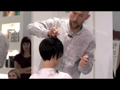 Citro Salon Academy - Sassoon Creative Director Michael Forrey Short Cut