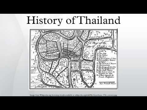 History of Thailand