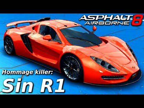 THE HOMMAGE KILLER!! Sin R1 (Rank 1561) Multiplayer in Asphalt 8