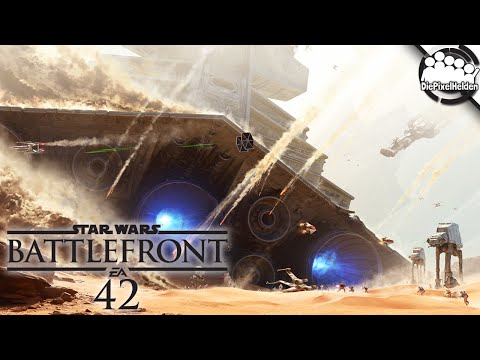 STAR WARS Battlefront #42 - Kampf-Noob Angriff - Let's Play Together SW Battlefront